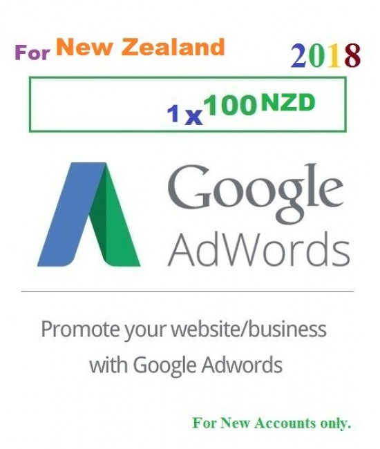 Google Adwords Coupon $100 New Zealand for 2018