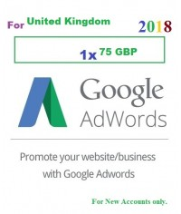 £ 75 (GBP) Google Adwords Coupons (UK)