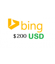 200 USD Bing advertising coupon 2018, 100% FREE value no need of spending with this coupon code.