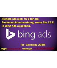 75 Euro bing ads coupon for Germany