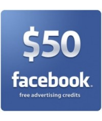 50 USD Facebook Ads Coupon for New Account
