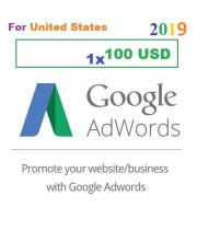 $100 USD Google AdWords Coupon Code 2019