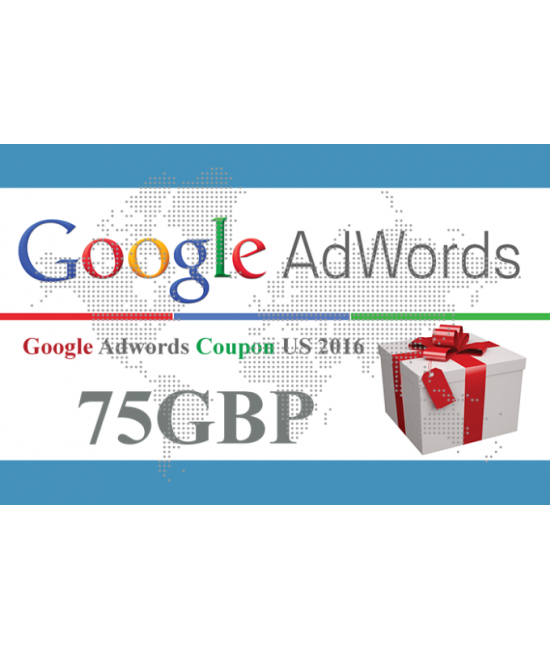 Google Adwords Coupon £75 UK
