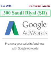 300 Saudi riyal Google Adwords Coupon for Saudi Arabia