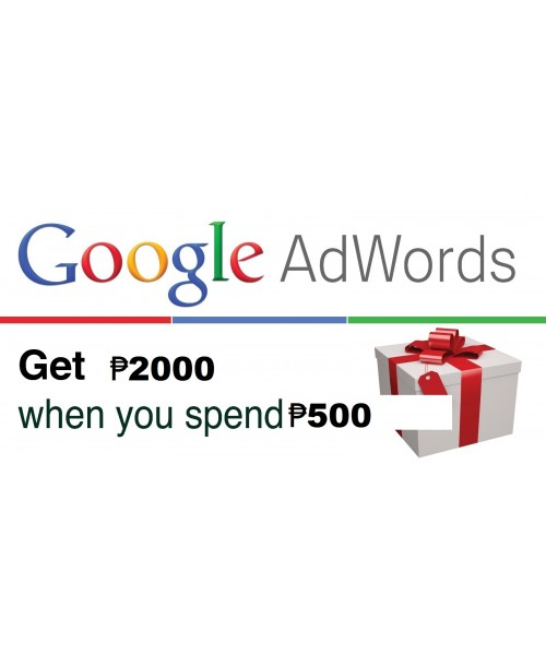 GOOGLE ADWORDS COUPON 2000 Philippine Peso for 2018