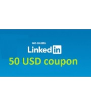 $50 LinkedIn ad Coupon