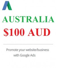 $100 AUD Google Ads Coupon Australia