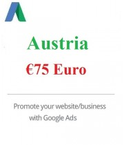 75 Euro Google Ads coupon for Austria 2020
