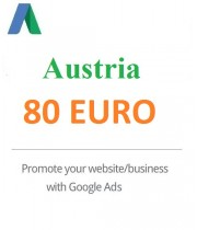 80 Euro Google Ads coupon for Austria