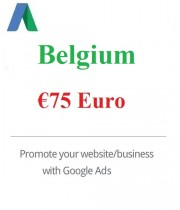 75 Euro Google Ads coupon Belgium 2020