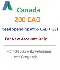 $200 CAD Google Ads coupon Canada