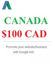 $100 CAD Google Ads coupon Canada