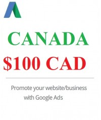 $100 Google Ads coupon Canada