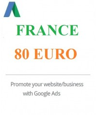 80 Euro Google Ads coupon France for 2020