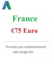75 Euro Google Ads coupon France for 2020