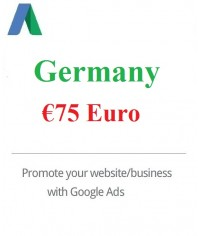 €75 Euro Google Ads coupon Germany