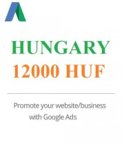 12000 HUF Google Ads coupon for Hungary