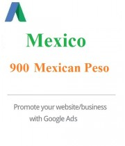 900 MXN Google Ads coupon for Mexico 2021