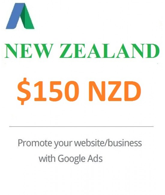 $150 Google Ads Coupon New Zealand