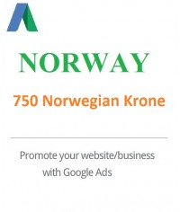 750 Norwegian Krone Google Ads Coupon Norway for 2020