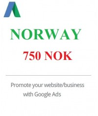 750 NOK Google Ads Coupon Norway for 2020