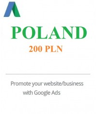 200 PLN Google Ads coupon Poland