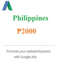 ₱2000 Philippine Peso Google Ads coupon Philippines