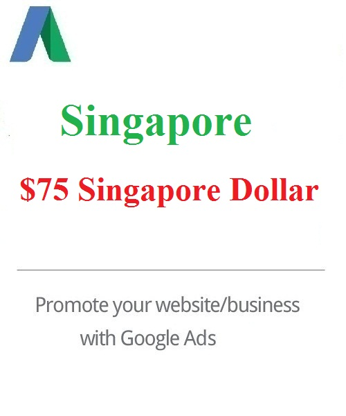 $75 Google Ads coupon Singapore