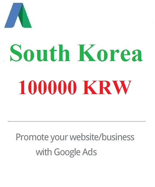 Google Ads coupon South Korea