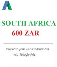 600 ZAR Google Ads coupon South Africa