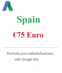 €‎75 Euro Google Ads coupon Spain for 2020