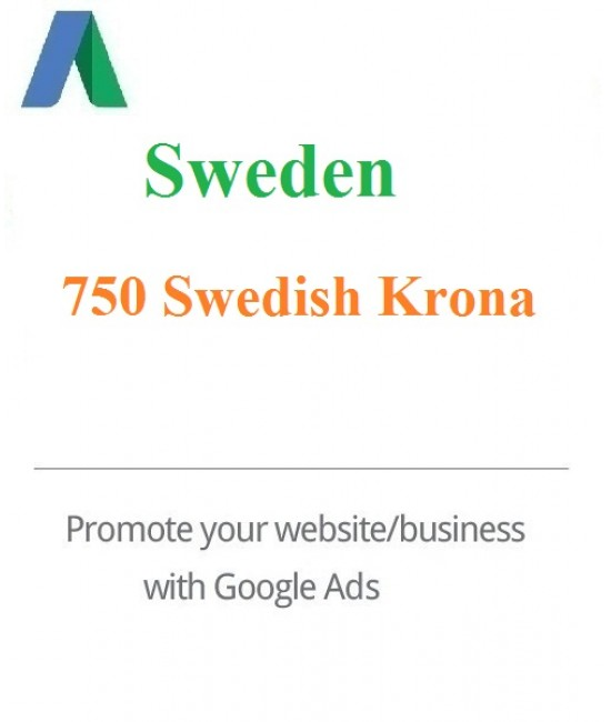 750 SEK Google Ads coupon Sweden 2020