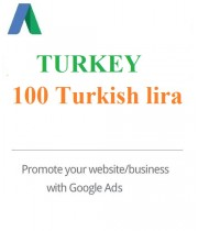 100 TL Google Ads Coupon Turkey