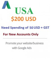 $200 USD Google Ads coupon USA