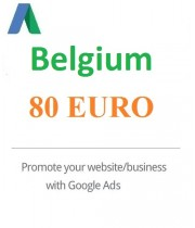 80 Euro Google Ads coupon Belgium 2021