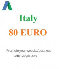 €80 Euro Google Ads Coupon Italy for 2020