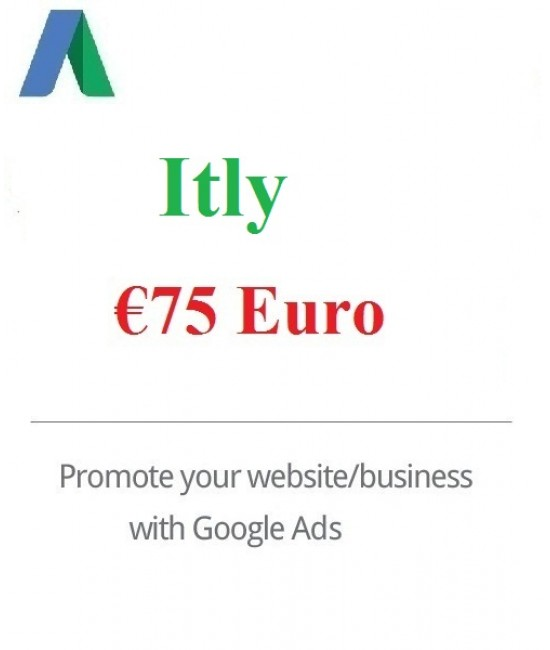 €75 Euro Google Ads Coupon Italy for 2020