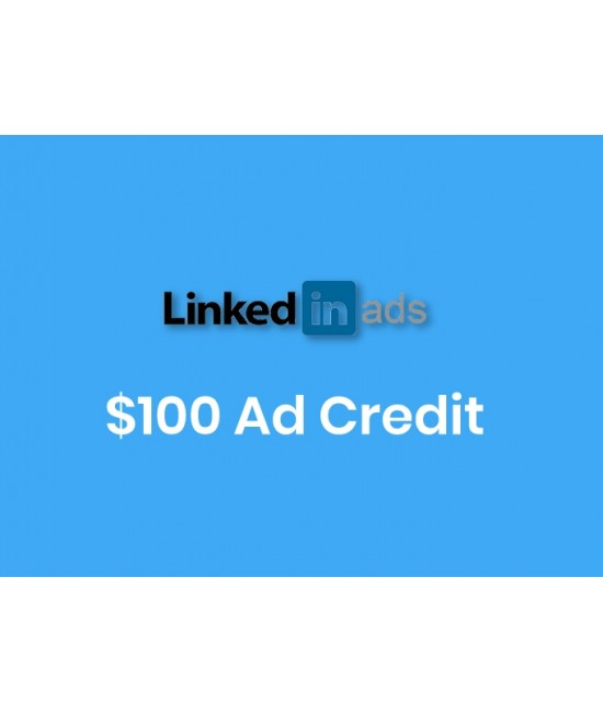 $100 Dollar Linkedin Ads Credit