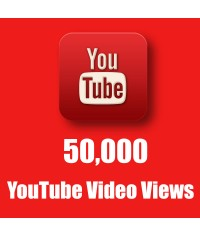 Buy Worldwide 50,000 YouTube Views