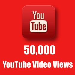 Buy Worldwide 50,000 YouTube Views (100% Real Google Ads Views)
