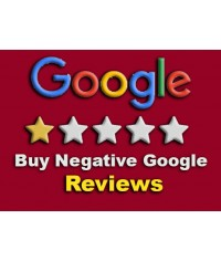 Buy 5 Negative Google Reviews