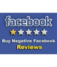Buy 5 Negative Facebook Reviews
