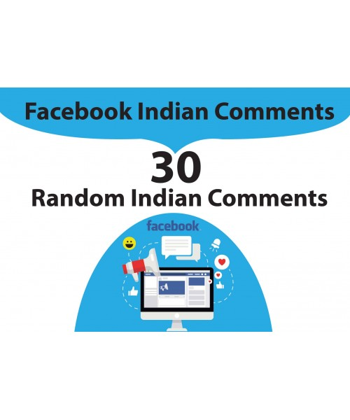 Indian Facebook Comments (Real Looking Profiles)