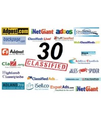 I Will Post Your Ads on 30 Top Rated Classified Websites