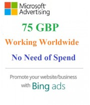 £75 GBP Bing Ads Coupon- Working Worldwide (NO Need of Spending) for NEW Accounts Only.