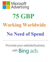 £75 GBP Microsoft Ads Coupon- Working Worldwide (NO Need of Spending) for NEW Accounts Only.