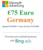 €75 Euro Microsoft Ads Voucher Germany
