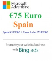€75 Euro Microsoft Ads Voucher Spain