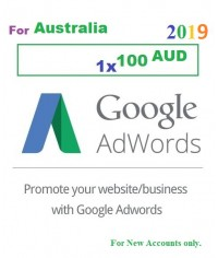 $100 AUD Google Adwords Coupon Australia for 2019