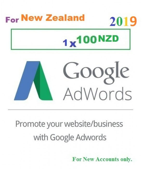 Google Adwords Coupon $100 New Zealand
